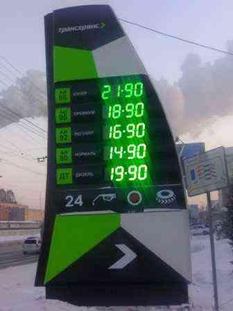 Цены на топливо начали падать, - Минэнерго - Цензор.НЕТ 5333