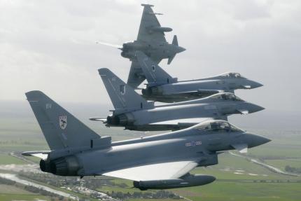 Французские самолеты открыли огонь