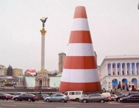 Главная «экологичная» елка Украины дала толчок народному творчеству