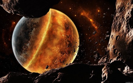 «Астероидный звездопад» длился на Земле миллиард лет