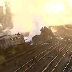 Работы на месте аварии поезда под Ростовом завершены