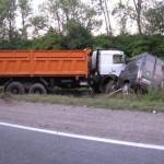 Трагическое ДТП наХмельнитчине: на месте аварии погибли 9 человек