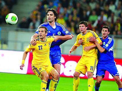Национальная сборная Украины по футболу разгромила командe Сан-Марино со счетом 9:0
