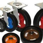 Классификация промышленных колес по типу материала