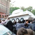Московские художники совершили «контрольную прогулку»
